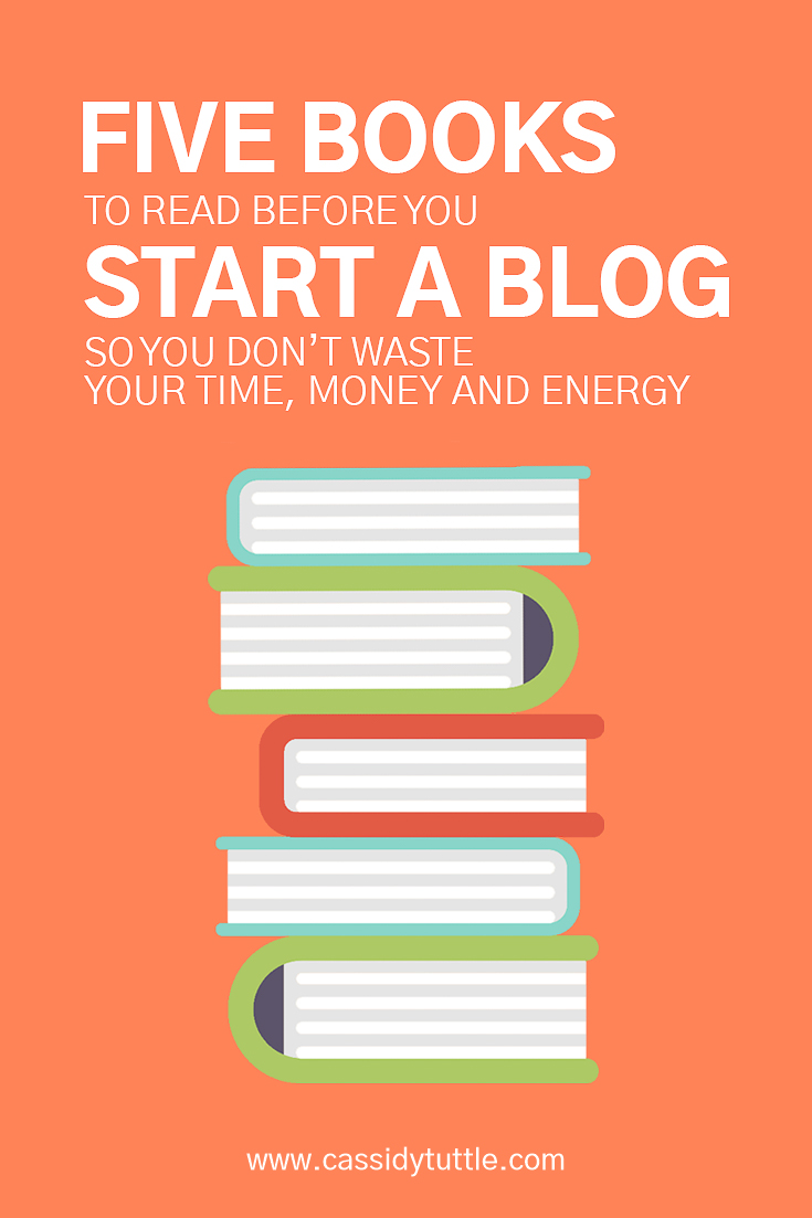 5 books every blogger needs to read to save time money and energy