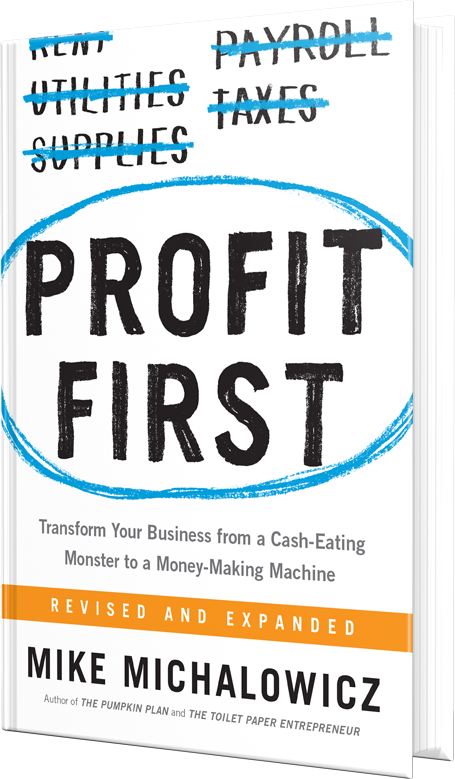 Profit First by Mike Michalowicz - Books for New Bloggers
